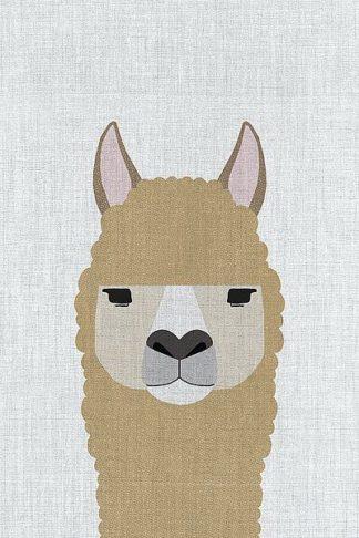 A513D - Annie Bailey Art - Alpaca