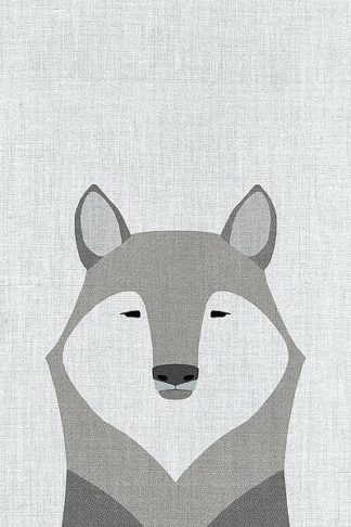 A518D - Annie Bailey Art - Gray Wolf