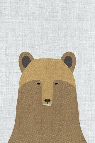 A519D - Annie Bailey Art - Grizzly Bear