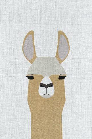 A520D - Annie Bailey Art - Llama