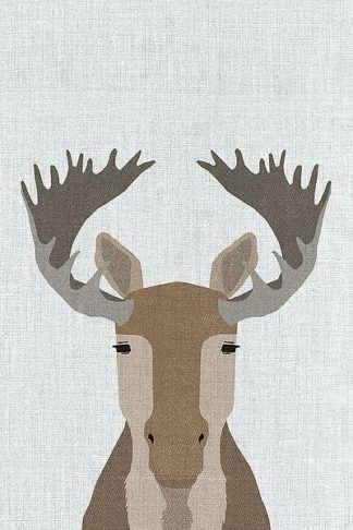 A521D - Annie Bailey Art - Moose