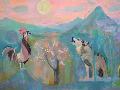 A538D - Alvarez, Iria Fernandez - The Wolf and the Rooster Sing by Moonlight
