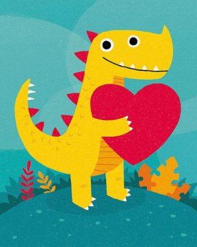 B3629D - Buxton, Michael - Dino Love