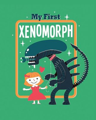 B3631D - Buxton, Michael - My First Xenomorph