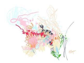 C1208D - Christine, Niya - Delicate Florals