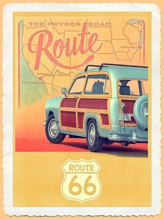 F709D - Fielding, Edward M. - Route 66 Vintage Travel
