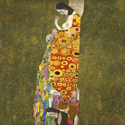 K2659D - Klimt, Gustav - Hope II, 1907-1908