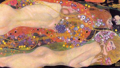 K2661D - Klimt, Gustav - Water Serpents II