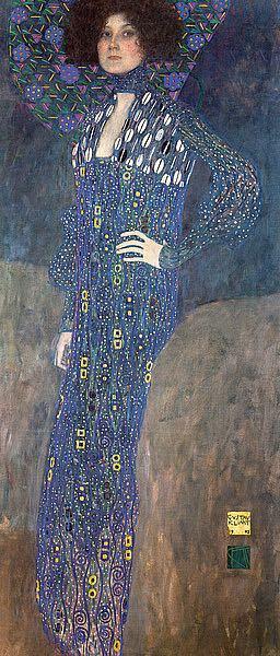K2662D - Klimt, Gustav - Portrait of Emilie Floge