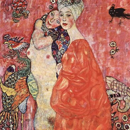 K2663D - Klimt, Gustav - The Girlfriends