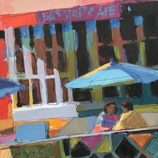 M1586D - Mollica, Patti - Bus Stop Cafe