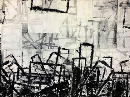 N339D - Noel, Adam Collier - Black & White Abstract