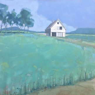 R1184D - Rufo, John - Barn in Midsummer Light