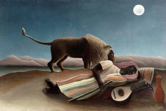 R1191D - Rousseau, Henri - The Sleeping Gypsy, 1897