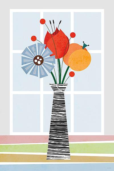 T619D - Tomas Design - Flowers in Colour