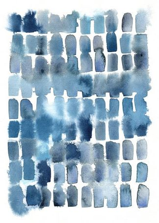W974D - Witmer, Kelly - Blue Wash Blocks