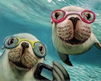 H1457 - Heffernan, Lucia - Underwater Selfie