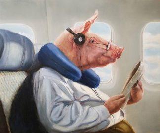 H1485D - Heffernan, Lucia - When Pigs Fly No. 2