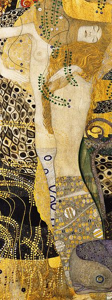 K2705D - Klimt, Gustav - Water Serpents I