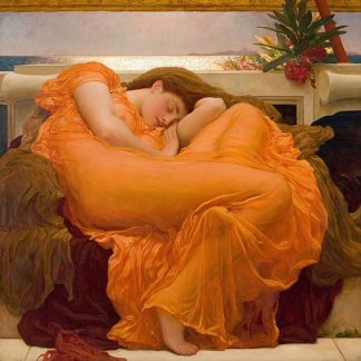 L906D - Leighton, Frederic - Flaming June