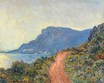 M1592D - Monet, Claude - La Corniche near Monaco, 1884