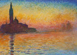 M1594D - Monet, Claude - Saint-Georges majeur au crépuscule