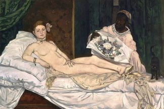 M1597D - Manet, Edouard - Olympia