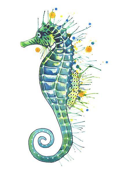 N383D - Nagel, Sam - Green Seahorse