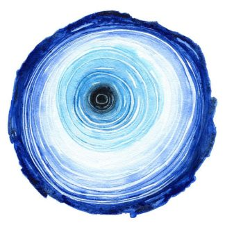 N388D - Nagel, Sam - Tree Ring - Indigo