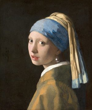V695D - Vermeer, Johannes - Girl with a Pearl Earring