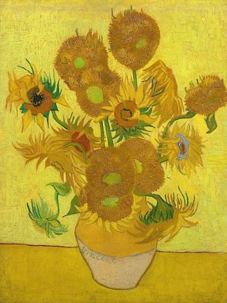 V698D - Van Gogh, Vincent - Sunflowers