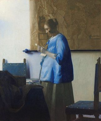 V700D - Vermeer, Johannes - Woman Reading a Letter