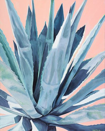C1233D - Clumeck, Alana - Agave with Coral