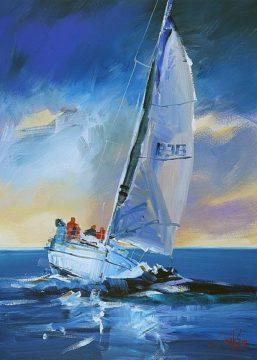 P1155D - Penny, Craig Trewin - Night Sail