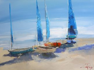 P1165D - Penny, Craig Trewin - Before the Sail