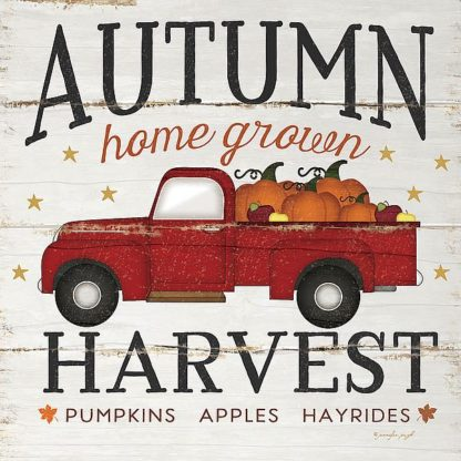 SBJP5541 - Pugh, Jennifer - Autumn Harvest Truck