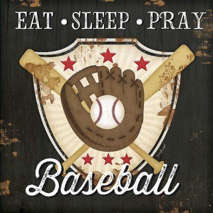 SBJP5974 - Pugh, Jennifer - Eat Sleep Pray Baseball