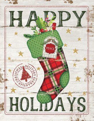 SBJP6057 - Pugh, Jennifer - Happy Holidays Stocking