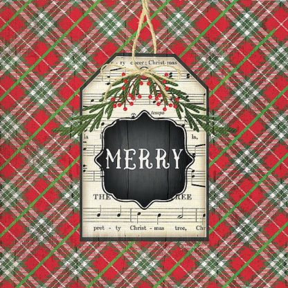 SBJP6063 - Pugh, Jennifer - Merry Christmas Plaid