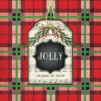 SBJP6064 - Pugh, Jennifer - Jolly Christmas Plaid