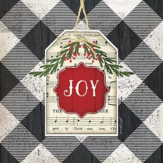 SBJP6065 - Pugh, Jennifer - Joy Christmas Plaid