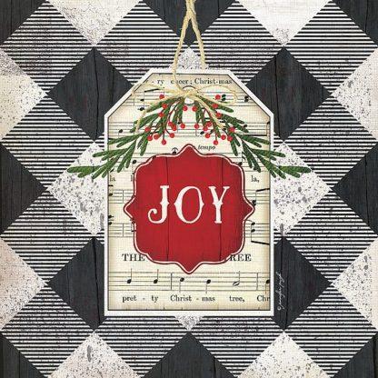 SBJP6065 - Pugh, Jennifer - Joy Christmas Plaid