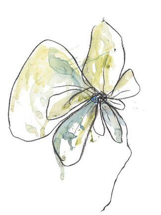 W1011D - Weiss, Jan - Citron Modern Botanical