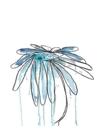 W1012D - Weiss, Jan - Indigo Modern Botanical