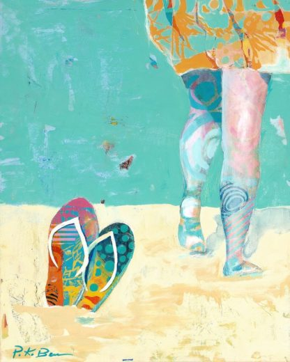 B3696D - Beer, Pamela K. - Flip Flops on the Beach