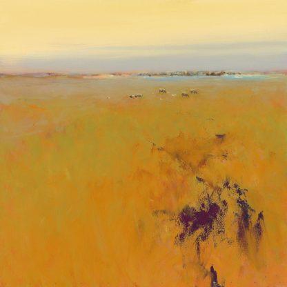 IG3464 - Groenhart, Jan - Meadow in Warm Colors