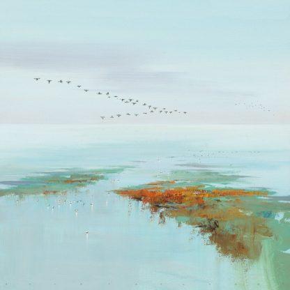 IG3870 - Groenhart, Jan - Flying Birds