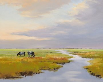 IG7090 - Groenhart, Jan - Grazing Cattle