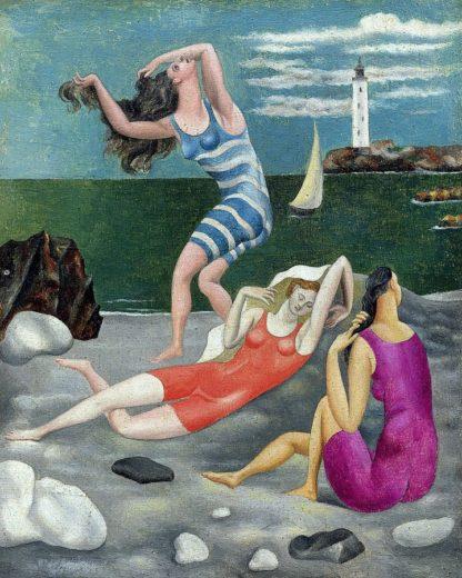 P1166D - Picasso, Pablo - The Bathers, 1918 (Las Banistas)