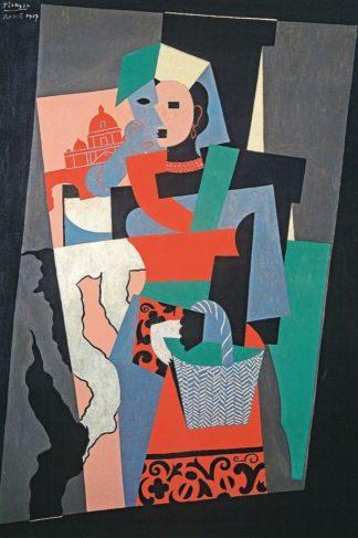P1168D - Picasso, Pablo - L'italienne